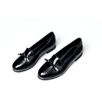2020 Flats Shoes Women Sheep Skin Fashion Slip On Ladies Lady Ballet Office Loafers