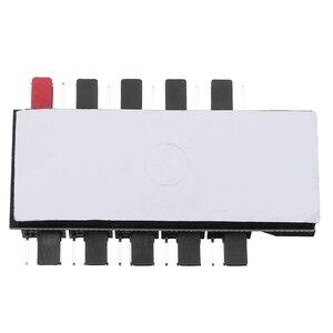 Image 4 - Adaptateur dalimentation pour ventilateurs de refroidissement, PC 1 à 10 4 broches, contrôleur de vitesse, pour ordinateur minière, 12V, PWM LED Sata