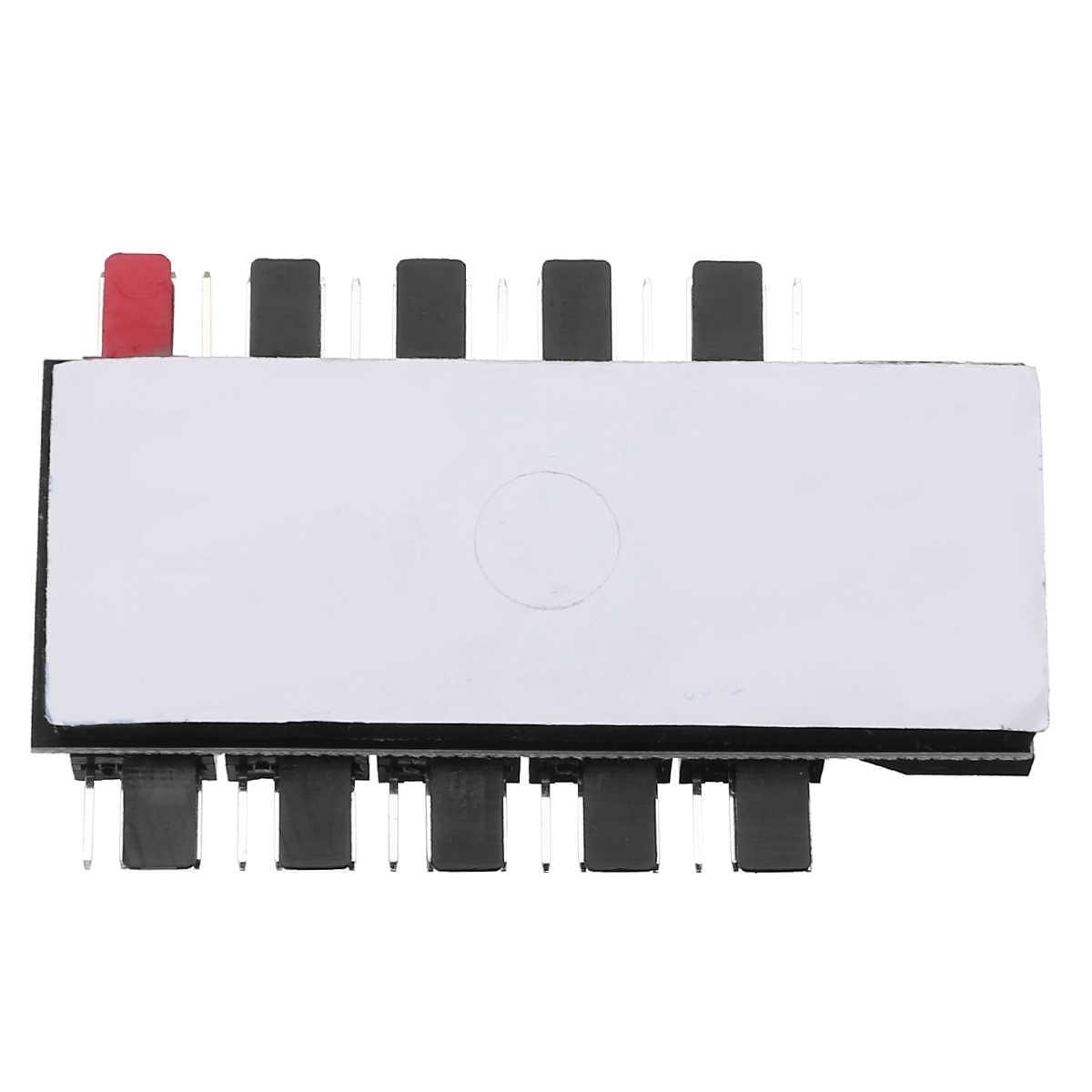 Pc 1 Sampai 10 4Pin Kipas Pendingin HUB Splitter Kabel 12V PWM LED Sata Power Suppply Adaptor Speed Controller untuk Komputer Pertambangan