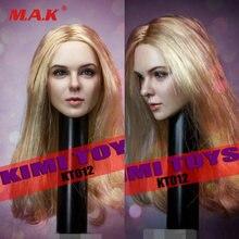 Kimi toys kt012 1/6 женская голова скульптура модель игрушки