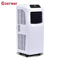 COSTWAY 10000 BTU Portable Dehumidifier Electric Air Conditioner with Window For Rooms EP23048