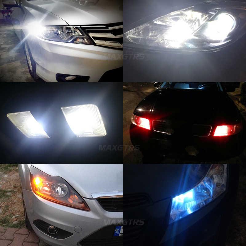 2x W5W T10 LED Canbus ampuller araba iç okuma park işıkları beyaz kırmızı sarı hiçbir hata 12V BMW için audi Mercedes BENZ