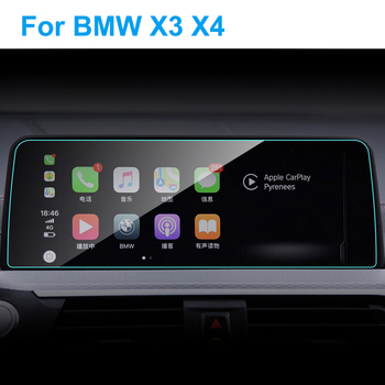 10.25 Inch Car GPS Navigation Screen Protector for BMW G01 X3 G02 X4 2018 2019 Auto Interior Tempered Glass Film Car Accessories image