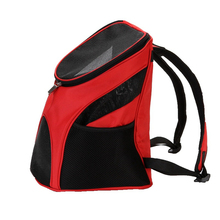 pet carrier backpack small size green Pet Backpack Dog Carrier Bags Portable 3KG Pet Front Travel Bag Mesh Small Backpack Bag Head Out Double Shoulder Bag