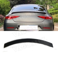 Carbon Fiber Rear Spoiler for Mercedes Benz CLS Class W257 C257 CLS400 CLS550 AMG 2018 2019 Boot Lid Spoiler Wings Car Styling