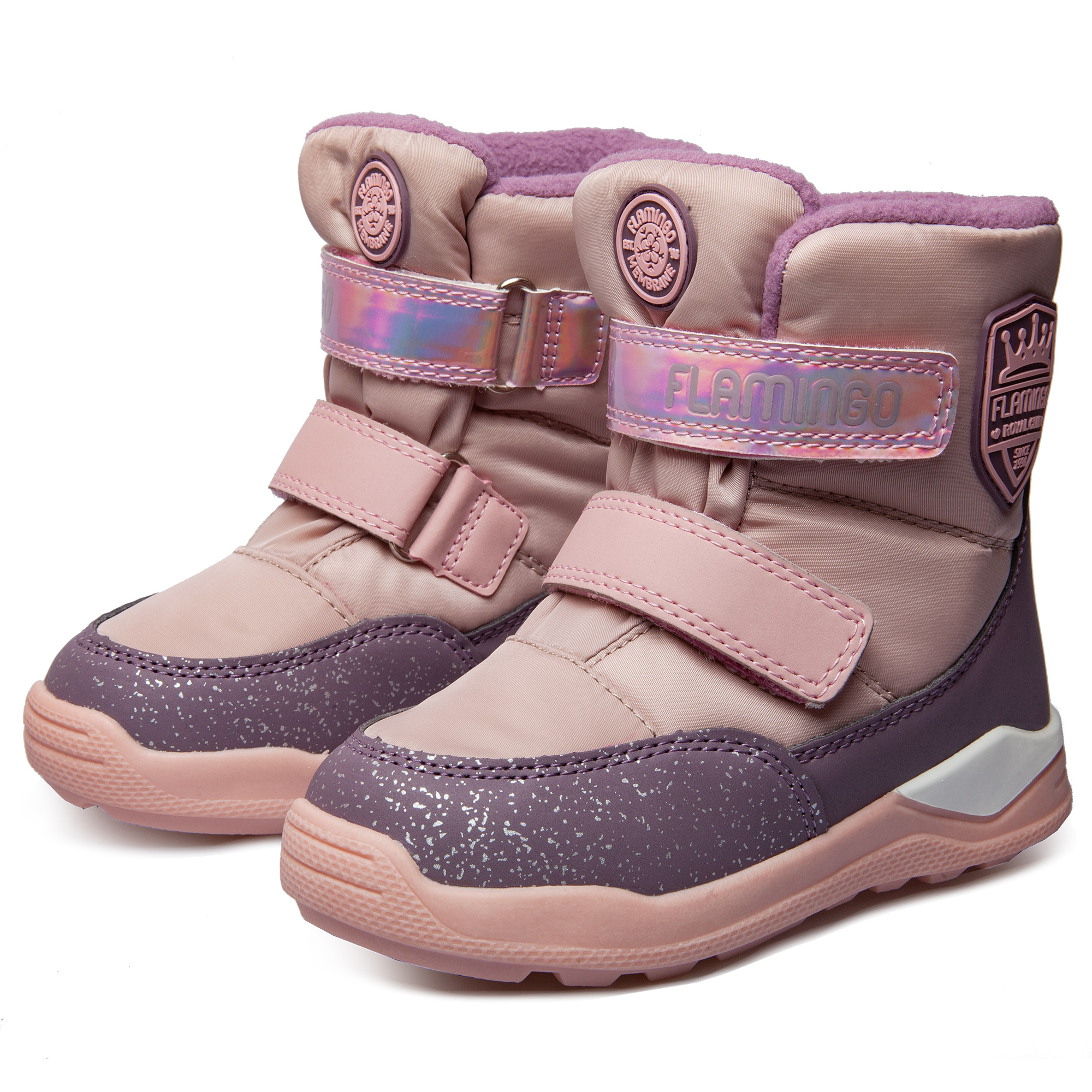Flamingo shoes 92m-qk-1627 shoes for children 27-32 # flamingo winter anti slip waterproof wool warm high quality kids shoes orthotic arch size 23 28 snow boots for girl 82m qk 0946