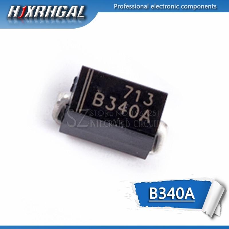 1pcs B340A B340 3.0A SURFACE SMD Schottky Diode