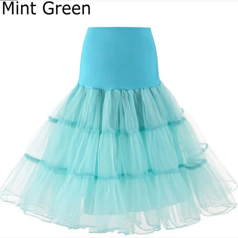 Fashion Lady Tulle Pleated Skirt Bride Wedding Prom Dress Petticoat Slim Soft No Hoop Rock Ballet Skirt Knee-length Bottom Skirt