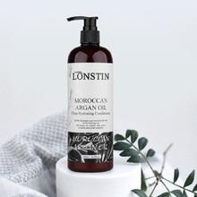 цена Argan Oil  500ML Lonstin Hair Repair Conditioner For Dry Hair Repairs Damage Hair Treatment Cream Restore Soft онлайн в 2017 году