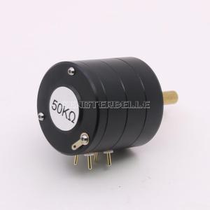 Image 4 - أسود 24 خطوات ثنائي القناة النحاس رمح الضغط الجزئي فوتوالصوتية مقاومة حجم الجهد