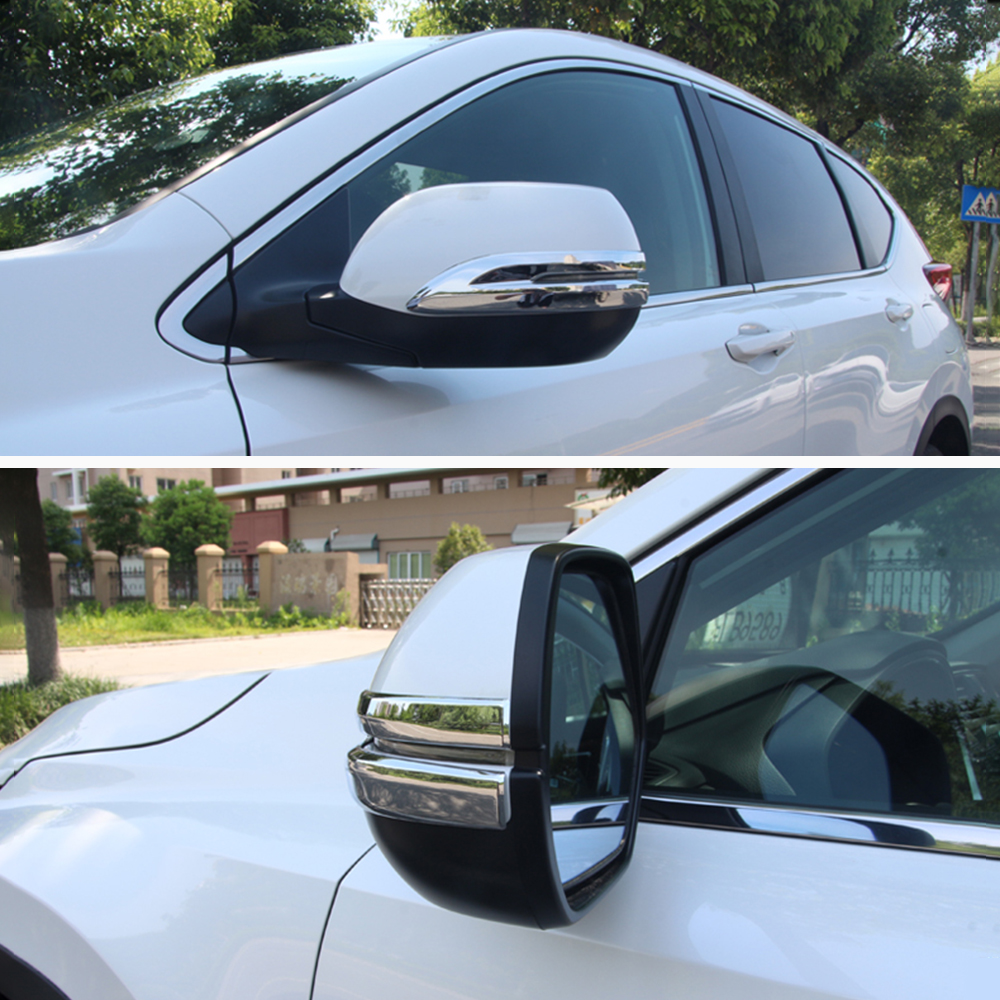 Accessory Wing Mirror Caps for Honda CR-V//Chrome Mirror Caps