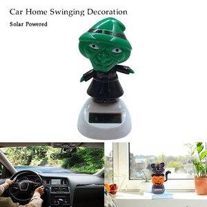 Solar Powered Dancing Swinging Animated Dancer Toy Car Windowsill Decoration New Car Accessories Maintenance Auto Detailin #py10(China)