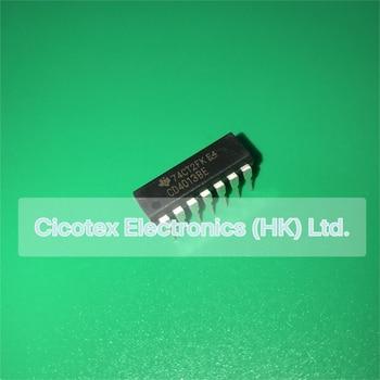 10pcs/lot CD4013BE DIP-14 CD 4013 BE IC D-TYPE POS TRG DUAL 14DIP CD4013BEE4 CD4013BEG4 CD40138E - sale item Electrical Equipment & Supplies