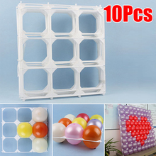 10pcs Balloon Frame Background 9 Grids Wedding Birthday Party Decoration Kids Adult Festival Supplies