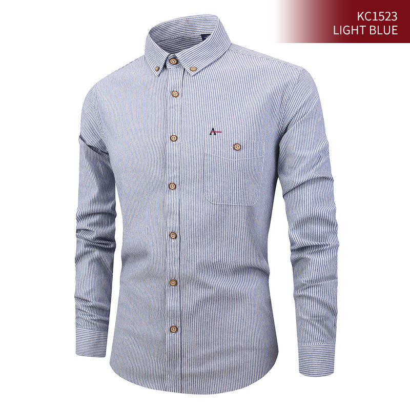 2020 Reserva Aramy Camisate Men's New Shirt Striped Shirt Cotton Casual Business Fashion Shirt