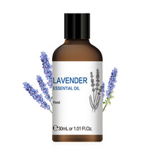 Hiqili 1oz óleos essenciais de lavanda 30ml difusor aroma óleo zimbro clary sálvia manjericão citronela pimenta preta cravo