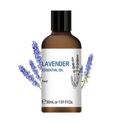 Hiqili 1 Oz Lavendel Essentiële Oliën 30 Ml Diffuser Aroma Olie Jeneverbes Salie Basilicum Cipres Zwarte Peper Kruidnagel Citronella