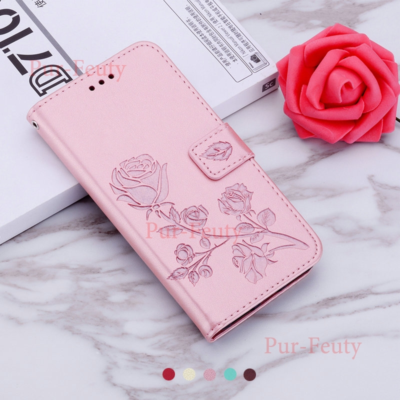 Case For <font><b>Samsung</b></font> <font><b>Galaxy</b></font> <font><b>A60</b></font> 2019 <font><b>SM</b></font> <font><b>A6060</b></font>/ds Wallet Leather Etui 3D Rose 360 Protect Etui Flip Cover For GalaxyA60 <font><b>SM</b></font> <font><b>A6060</b></font>/ds image