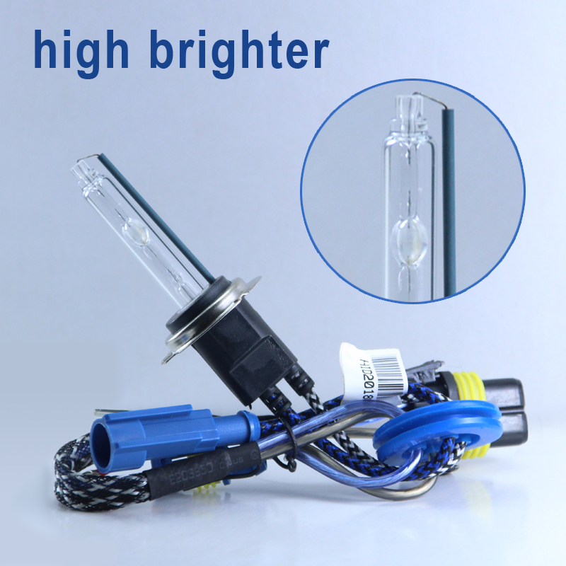 2pcs Premium High Bright 55W Xenon Bulb H7 H1 H11 9005 9012 HID Conversion Kit D2H H3 Bulb Auto Car Headlight Lamp 12V 5500K