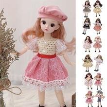 Новая Одежда для кукол костюм платья джинсовое мини платье повседневная