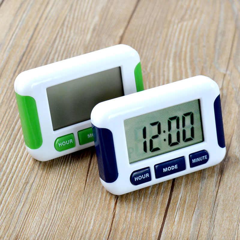 5 グループカウントダウンタイマー多キッチンタイマーのアラーム時計多いベル 12/24 時間タイマー