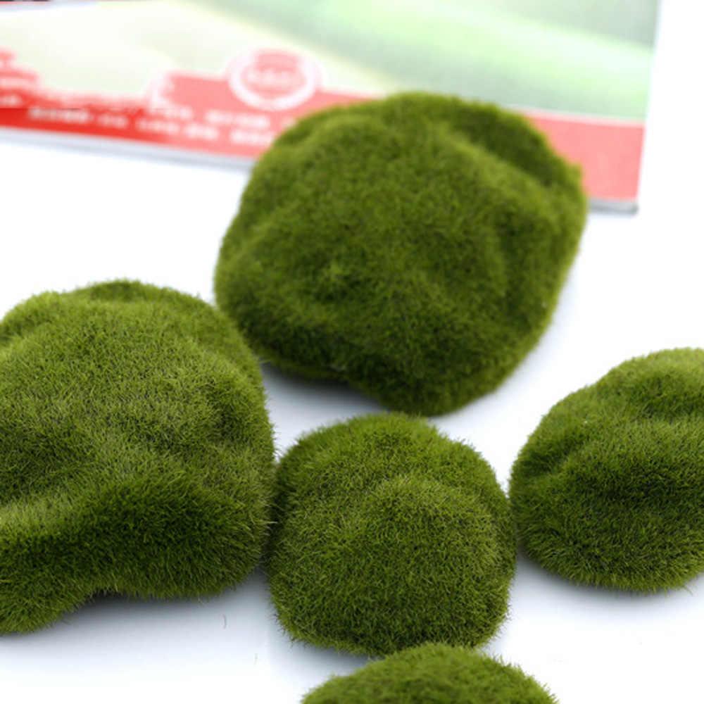 4 Type Size Kunstmatige Groen Mos Planten Decoraties Creatieve Huis Tuin Gazon Vloer Landschap Foam Thuis Diy Versieringen