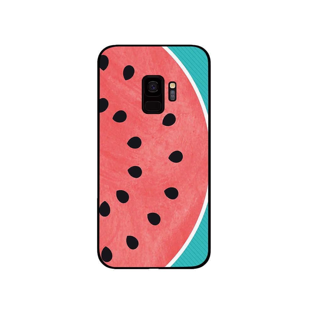 Arbuzy i ananas przypadku telefonu do Samsung Galaxy S10 S10E S8 Plus S6 S7 krawędzi S9 S10e Plus uwaga 8 9 pokrywa