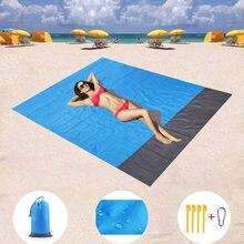 Коврик для кемпинга пикника Портативное пляжное одеяло Водонепроницаемая