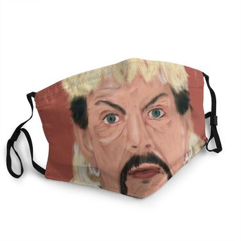 Joe Exotic Tiger King Reusable Mouth Face Mask Documentary Animal Anti Haze Anti Dust Protection Cover Respirator Mouth Muffle image