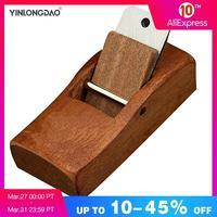YINLONGDAO 4 ''/110mm Mini heblarka strugarka do drewna łatwa krawędź tnąca do ostrzenia narzędzi do obróbki drewna w Zestawy narzędzi ręcznych od Narzędzia na