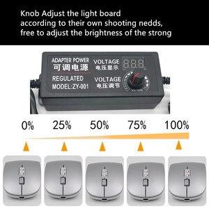 Image 5 - SANOTO фото коробка светодиодный комплект освещения фото Профессиональный заполняющий свет софтбокс лампа 5500k для мини фото свет для фотостудии коробка