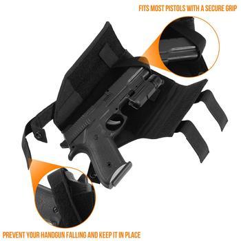 Tactical Molle Gun Holster Belt Pistol Holster for Universal Handgun Beretta Revolver Glock 1911 17 92 96 Airsoft Shotgun Pouch 2