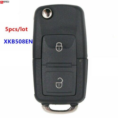 5 шт. XHORSE английская версия XKB508EN для Volkswagen B5 стиль провод универсальный дистанционный ключ-2 кнопки-для VVDI ключ инструмент, VVDI2