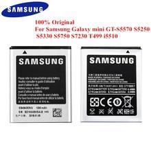 100% מקורי סוללה EB494353VU לסמסונג גלקסי מיני GT S5570 S5250 S5330 S5750 S7230 S5232 C6712 T499 I5510 i559 1200mAh