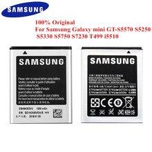 100% oryginalna bateria EB494353VU do Samsung Galaxy Mini GT S5570 S5250 S5330 S5750 S7230 S5232 C6712 T499 I5510 i559 1200mAh