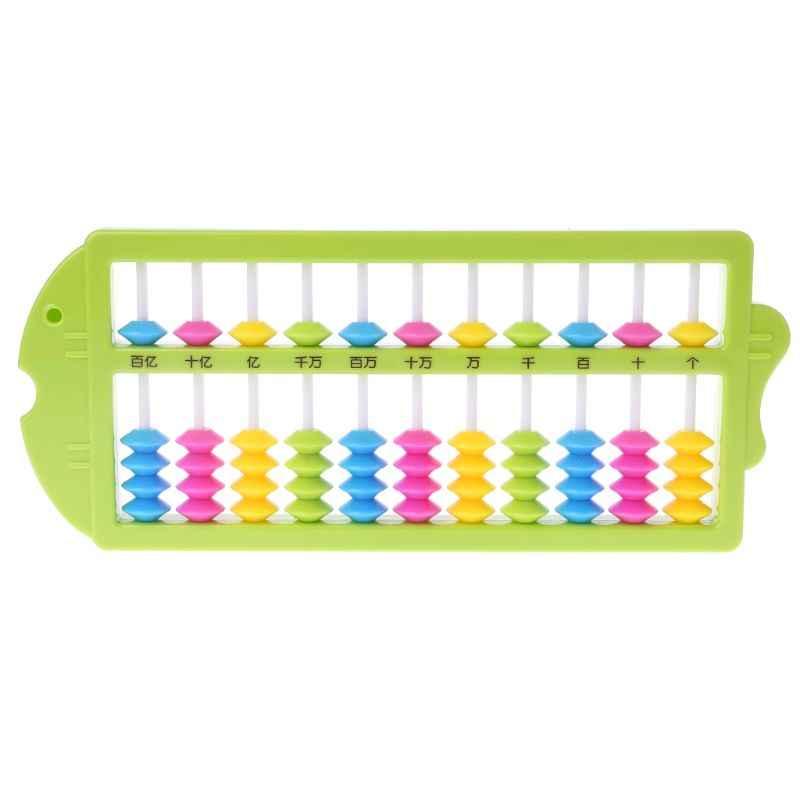 Cinese Abacus Aritmetica Soroban Matematica di Calcolo Strumenti Per Bambini Giocattoli Educativi