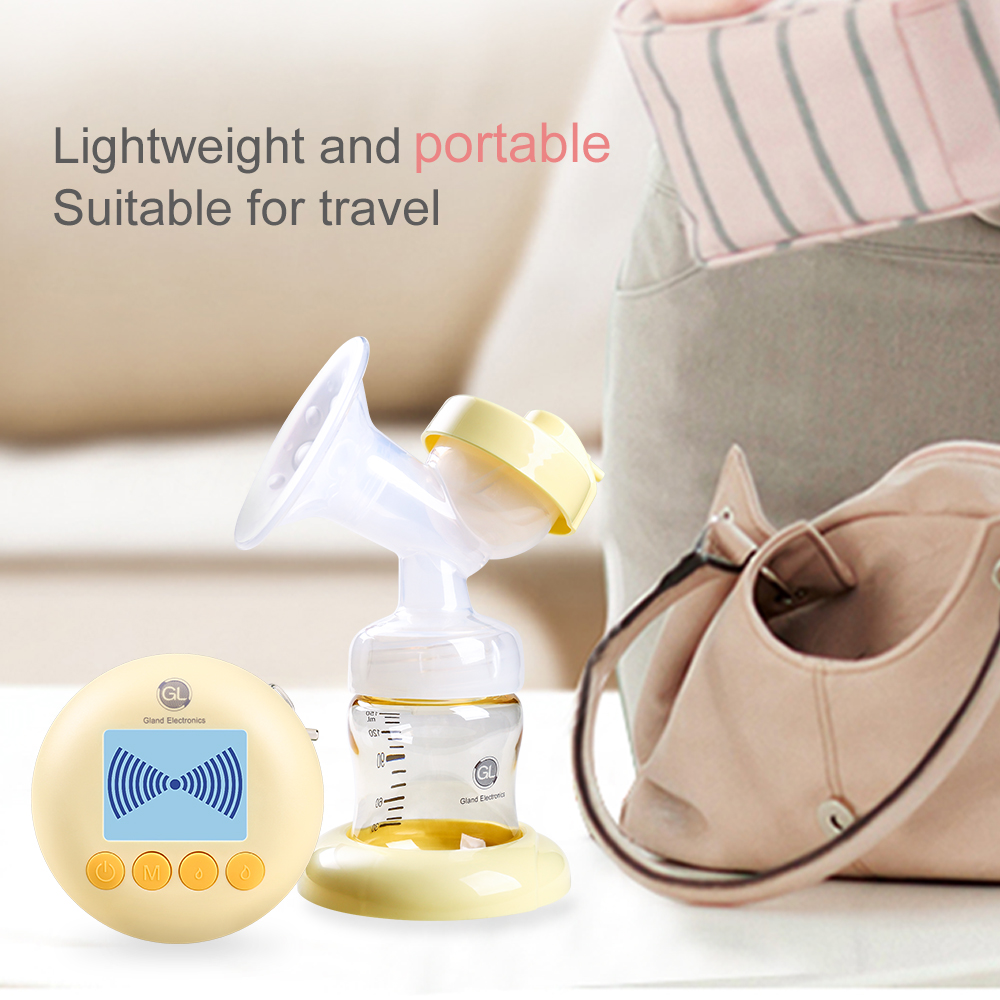 Image 2 - USB Charging Double Pump Breast Electric Extractor Breast Milk Pumps With Massage Mode BPA Free LCD Display Breastfeeding Pump-in Electric Breast Pumps from Mother & Kids