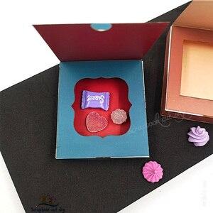 Image 3 - Caixa de molho de chocolate muyu corte morrer novos dados de corte de madeira do molde para scrapbooking