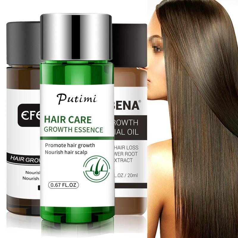 1/2Pcs Ginger Hair Growth Essence for Women Men Anti Hair Loss Prevent Baldness Health Care Beauty Fast Dense Hair Growth Serum