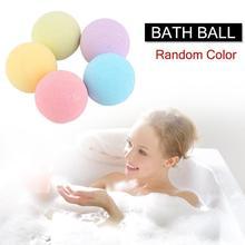 Exfoliating Bathing Ball Bomb Aromatherapy Type Body Cleaner Handmade Bath Salt Bombs Exfoliating Moisturizing Bubble Bath Ball