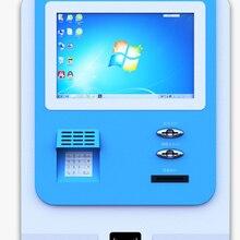 Самообслуживание сенсорный экран считыватель карт терминал цифровой киоск