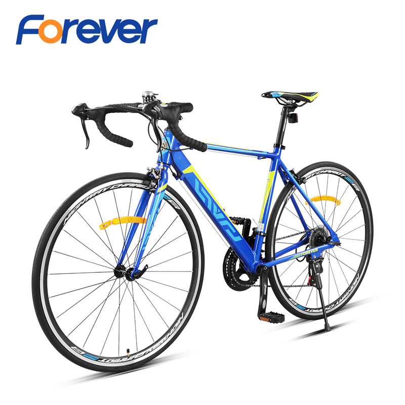 Forever 11.7kg Ultralight Road Bike Front Fork Off-road Cycles Aluminium Alloy Racing Bicycle 700 C 14 Speed Men Cycling Bike