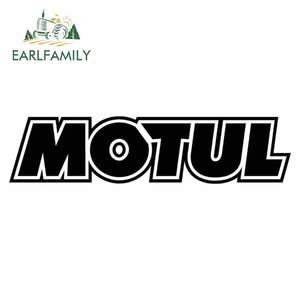 Image 3 - EARLFAMILY 13 см стикер для стайлинга автомобиля для Motul Voiture курс наклейки Авто Moto JDM Виниловые стикеры s Race oil Decal