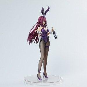 Image 3 - Anime destin/Grand ordre Scathach Lancer Alter Sashi Ugatsu doux lapin fille Sexy filles PVC figurine jouets modèle à collectionner
