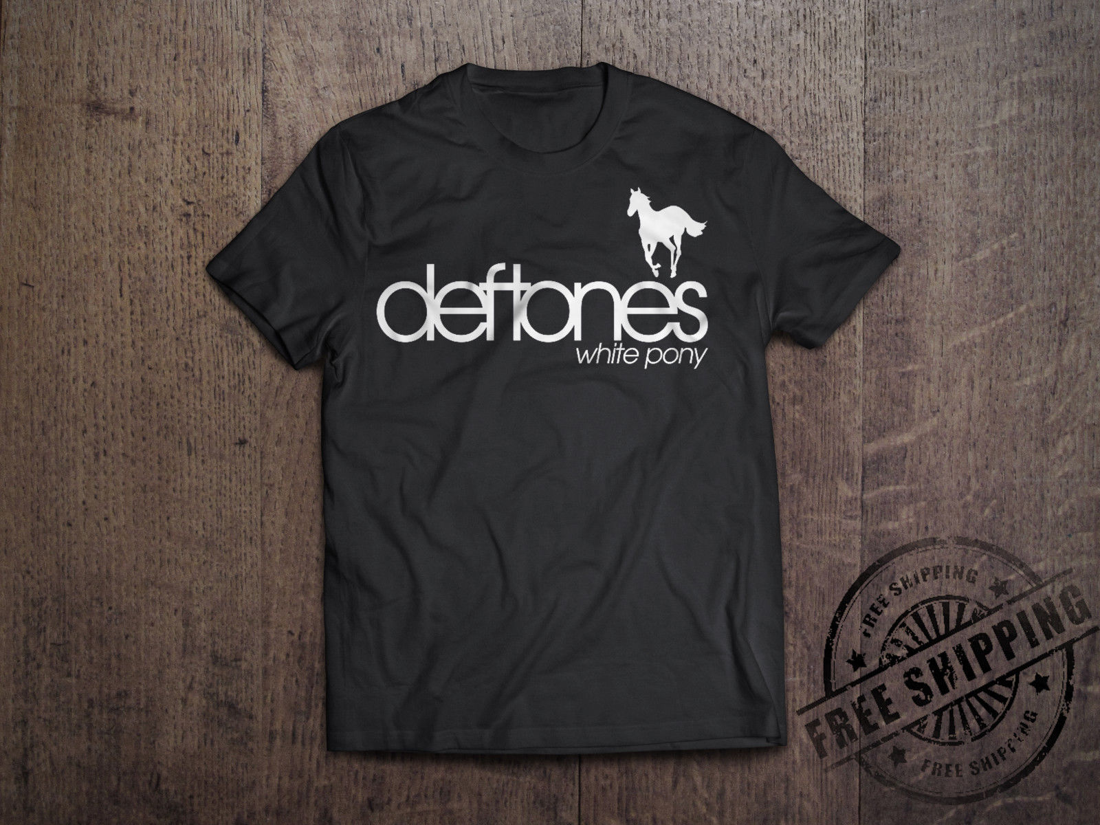 Deftones T-Shirt Hard Rock Band Classical Metal Music America Rock Band image