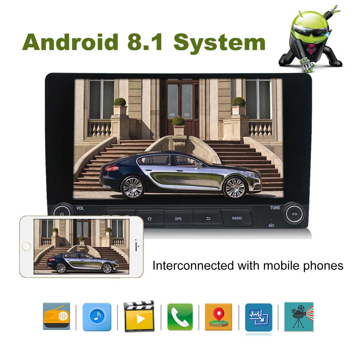 12V 10,1 дюймов gps-навигатор для машины навигация Автомобильные навигаторы android bluetooth AV-IN FM MP3/mp4 плееры
