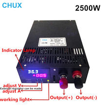 2500W Switching Power Supply Adjustable 0-12V 15V 24V 36V 48V 60V 80V 100V 110V 200V 300V AC to DC Led Dispaly Power Supply