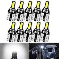 10x T10 W5W luces interiores Led Auto Led luz del coche 12V DC bombilla para Toyota Corolla Chr RAV4 Avensis Auris 4Runner GT86 Yaris