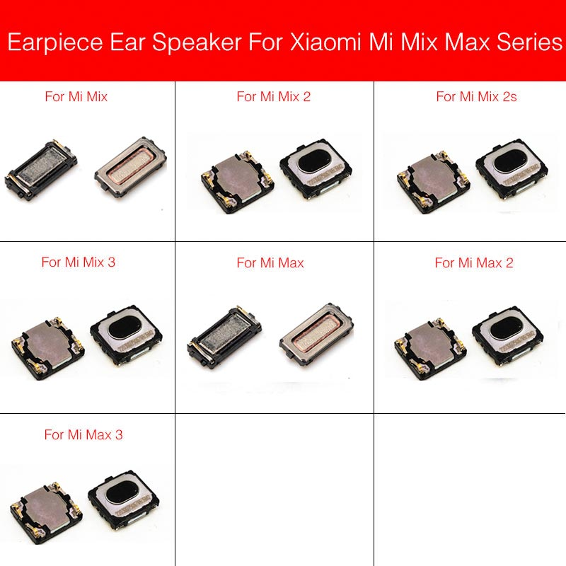 New Earpiece Speaker For Xiaomi Mi Max Mix 2 2s 3 Ear Speaker Earpiece Ear Speaker Cell Phone Parts Replacement Repair Parts Mobile Phone Flex Cables Aliexpress