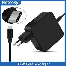 20V 3.25A 65W USB C tipi AC güç adaptörü şarj için Lenovo X270 X280 T580 P52s E480 E470 laptop şarj Asus dizüstü